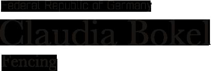FEDERAL REPUBLIC OF GERMANY CLAUDIA BOKEL FENCING
