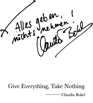 Give Everything, Take Nothing