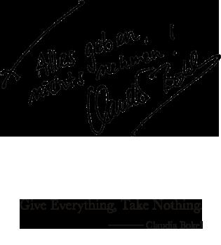 Give Everything, Take Nothing