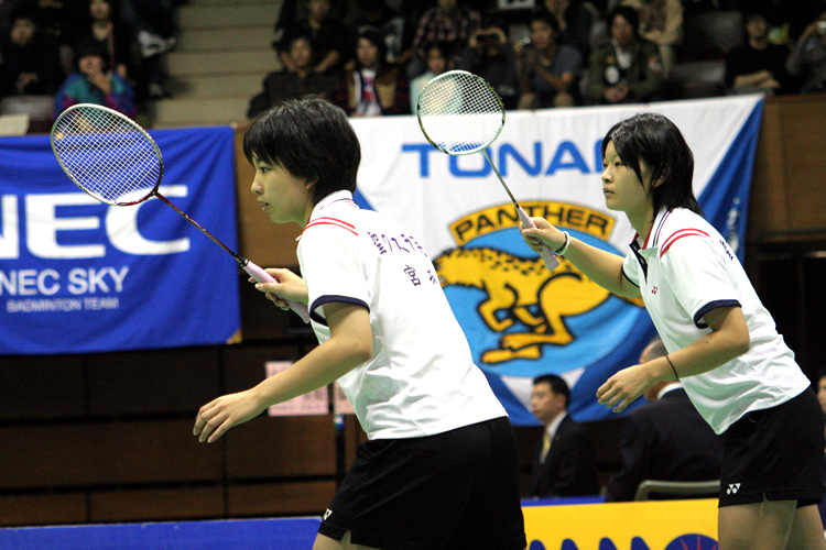 Ayaka Takahashi & Misaki Matsutomo